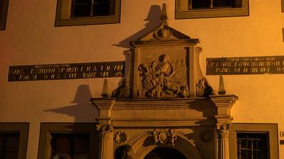 Portal Simson und die Löwen des Bahrmannschen Brauhauses, Meißen