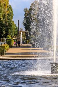 Fontäne, Park Sanssouci, Potsdam