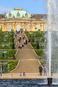 Weinbergterrassen und Schloss Sanssouci, Potsdam