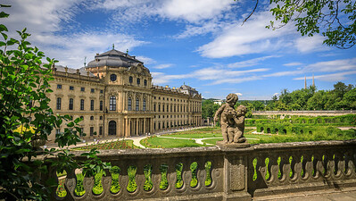 Hofgarten, Residenz Würburg
