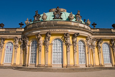 Sans Souci in Potsdam (Frederick the Great Palace)