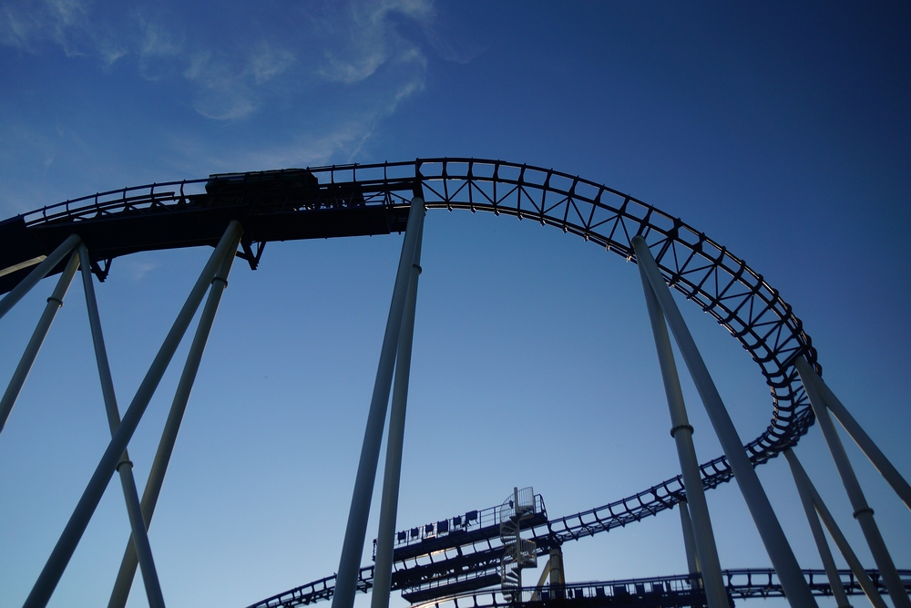 With so many roller coasters to choose from it could literally take you the whole day to try them all.