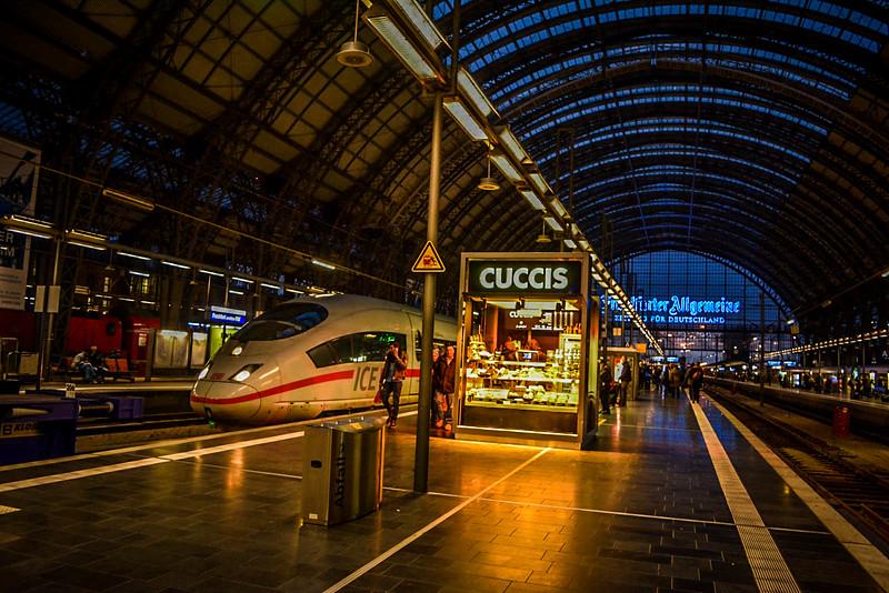 eurail pass frankfurt