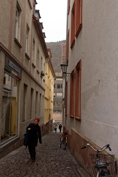 Germany, Heidelburg, Alleyway SNM