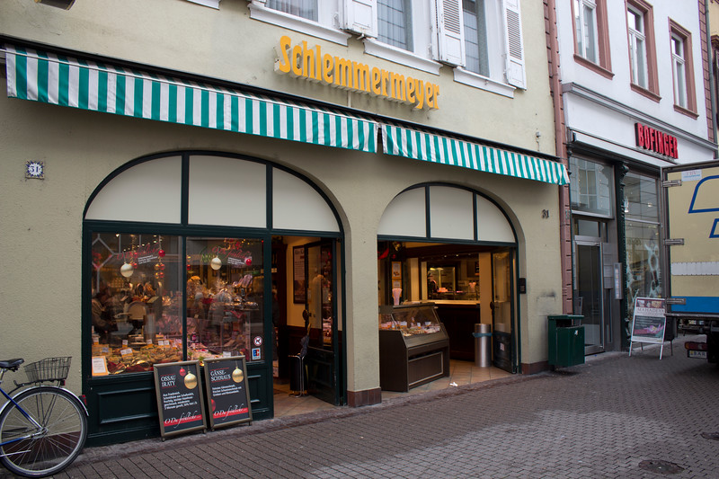 Germany, Heidelburg, Schlemmermeyer Deli