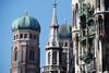 Neues Rathaus and Frauenkirche, Munich