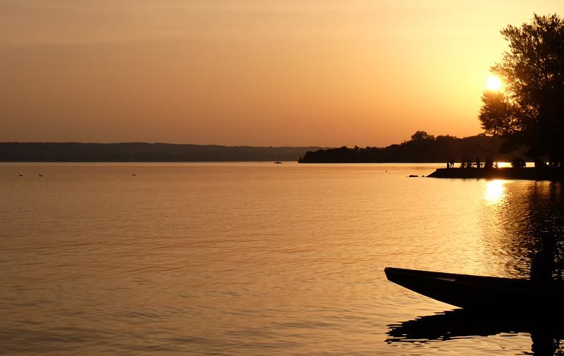 Sunset, Herrsching am Ammersee