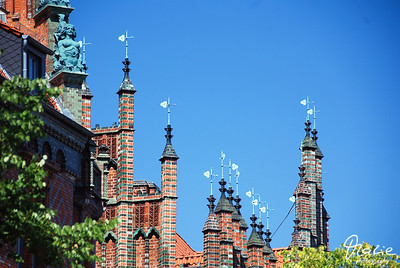 hannover - das alte rathaus - the old townhall