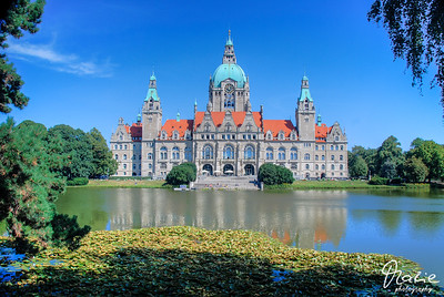 hannover - neues rathaus - new townhall