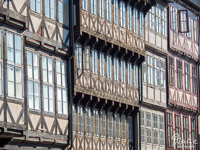 hannover - altstadt - historic center