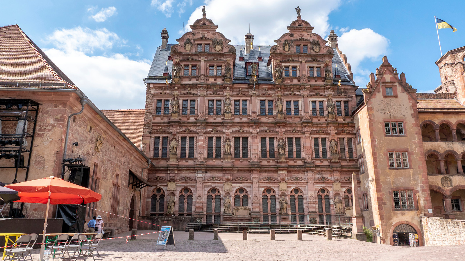 Spectacular Things to Do in Heidelberg Germany - The Ottheinrich Building, Heidelberg Castle