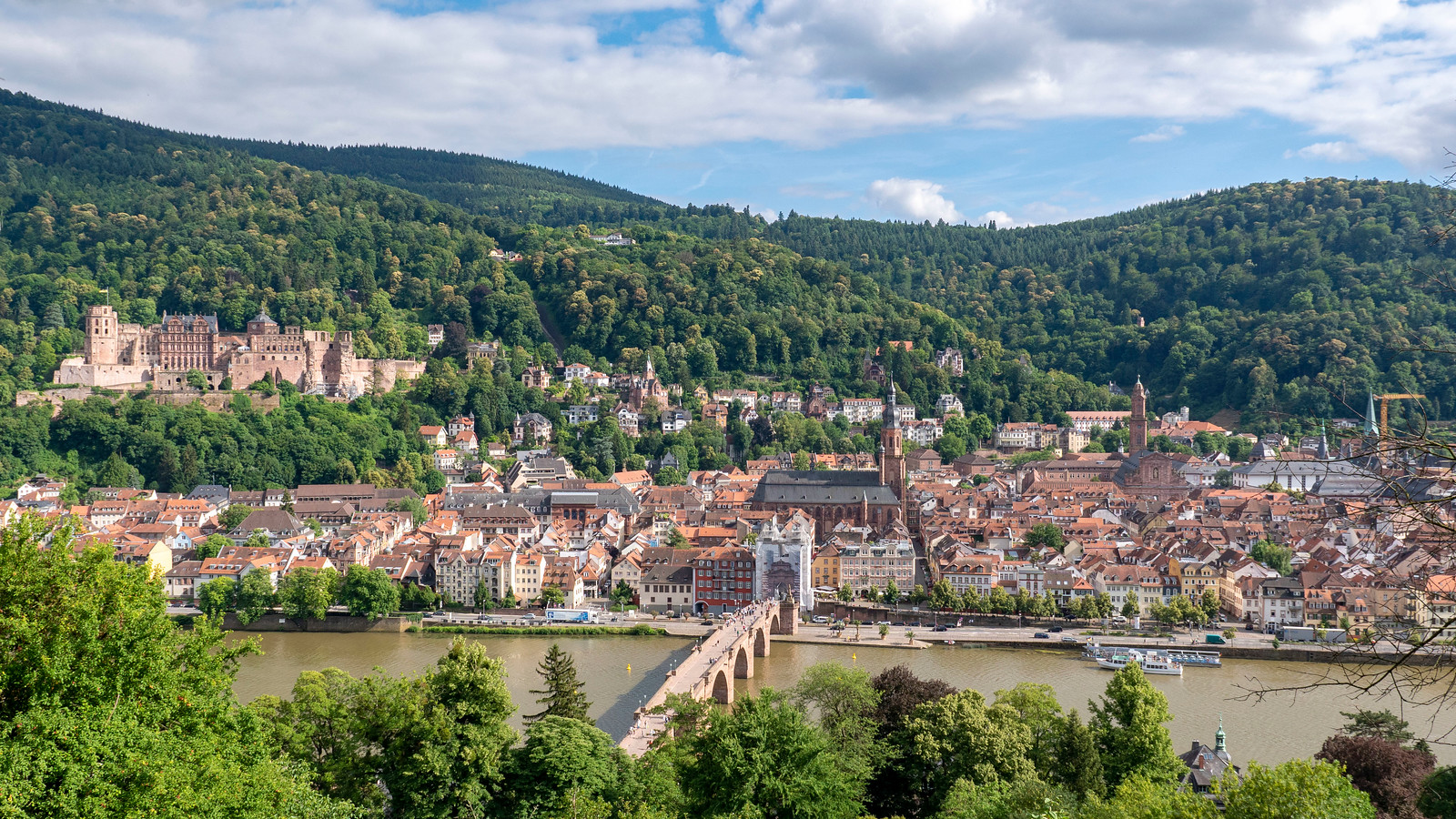 Spectacular Things to Do in Heidelberg Germany - The Philosopher's Walk (Philosophenweg)