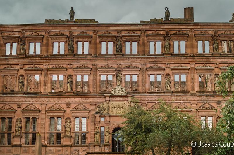 Heidelberg Castle Wall