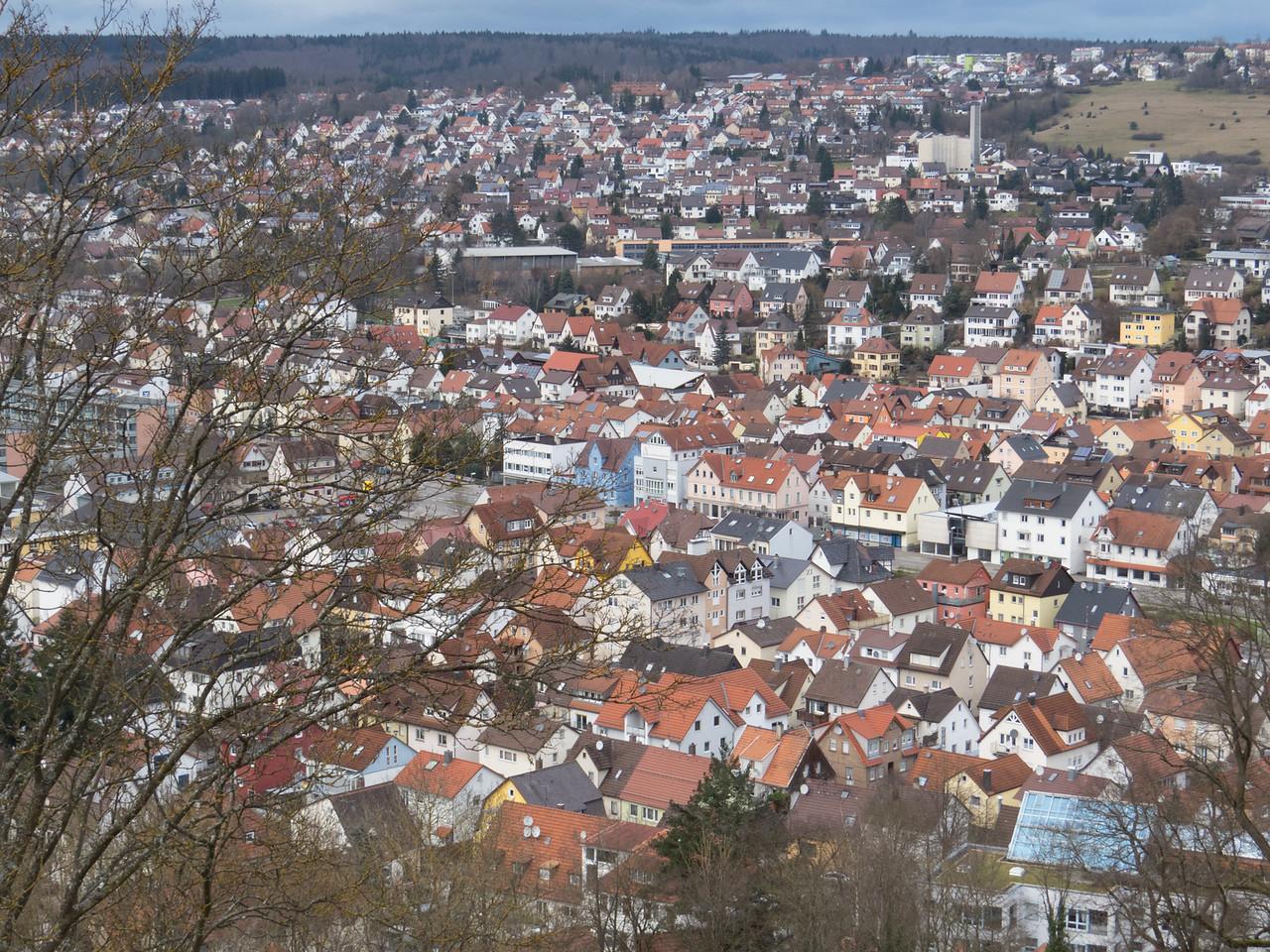 Overlooking Heidenheim