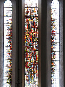 Stained glass in the Dom / Cathedral.