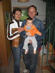 Manu, Andre & Maya - September 2007