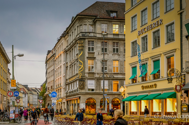Evening in Munich