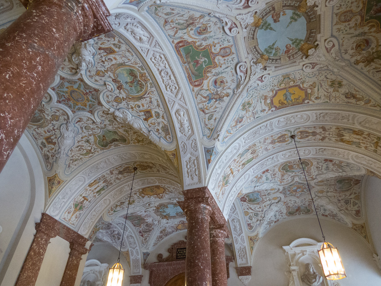Munich Residence ceiling
