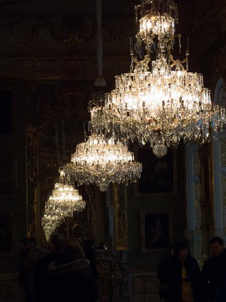 Munich Residence chandeliers