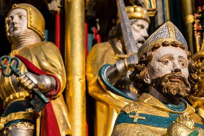 germany, nuremberg, art, statue, fountain