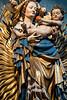 germany, nuremberg, art, statue, virgin mary, baby jesus