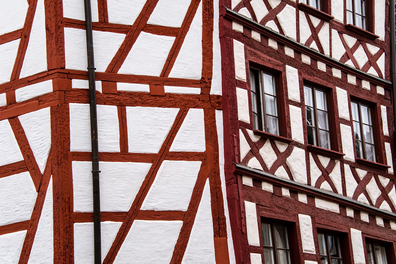 germany, nuremberg, architecture, building, half timbered, medieval