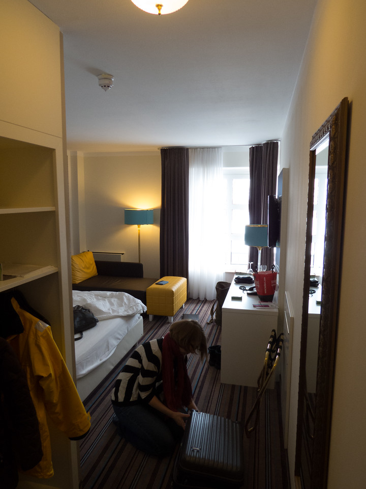 Our room at Ibis Styles