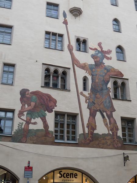 Fresco on Goliathhaus