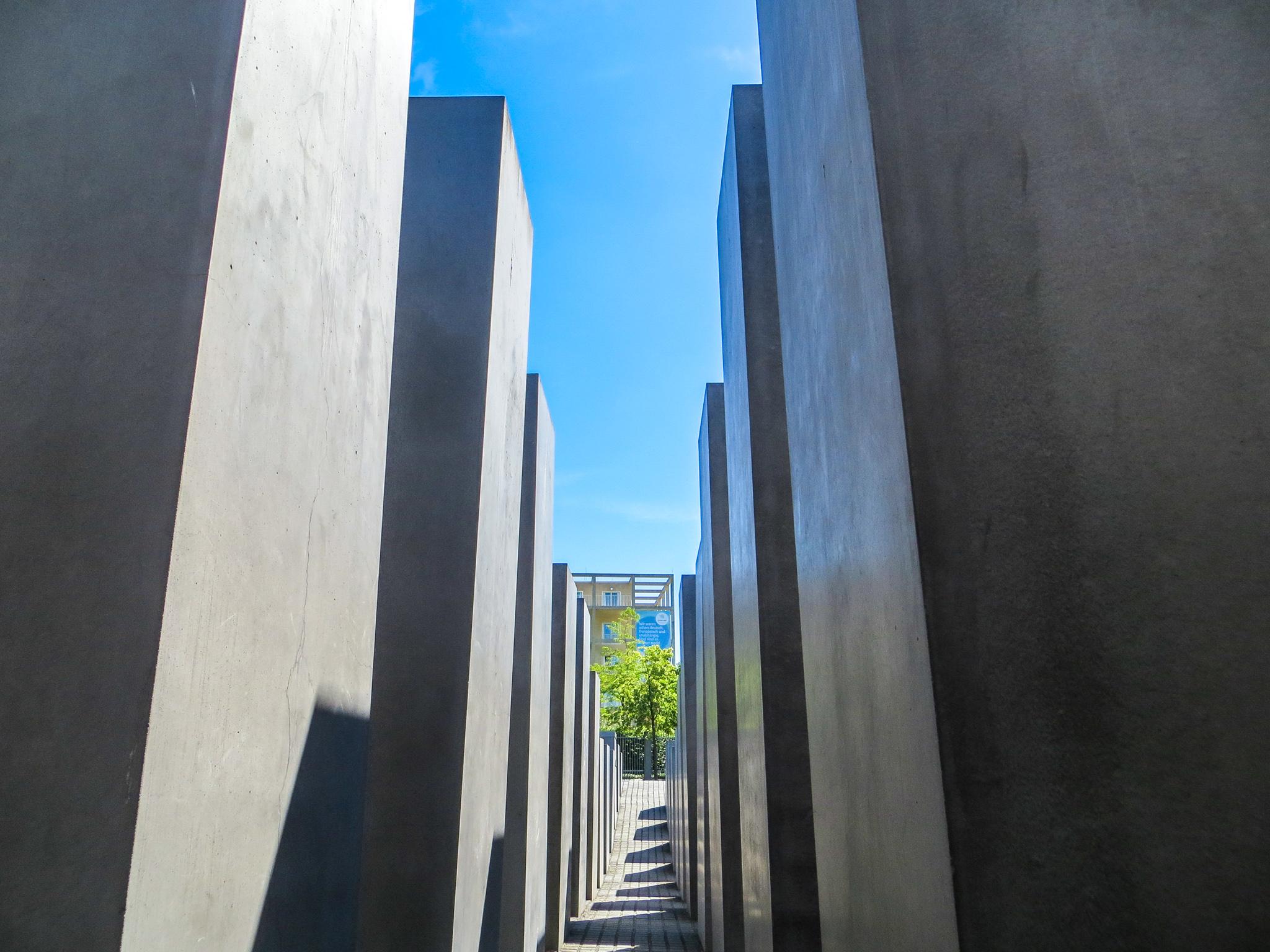 solo travel berlin tip: respect the memorials