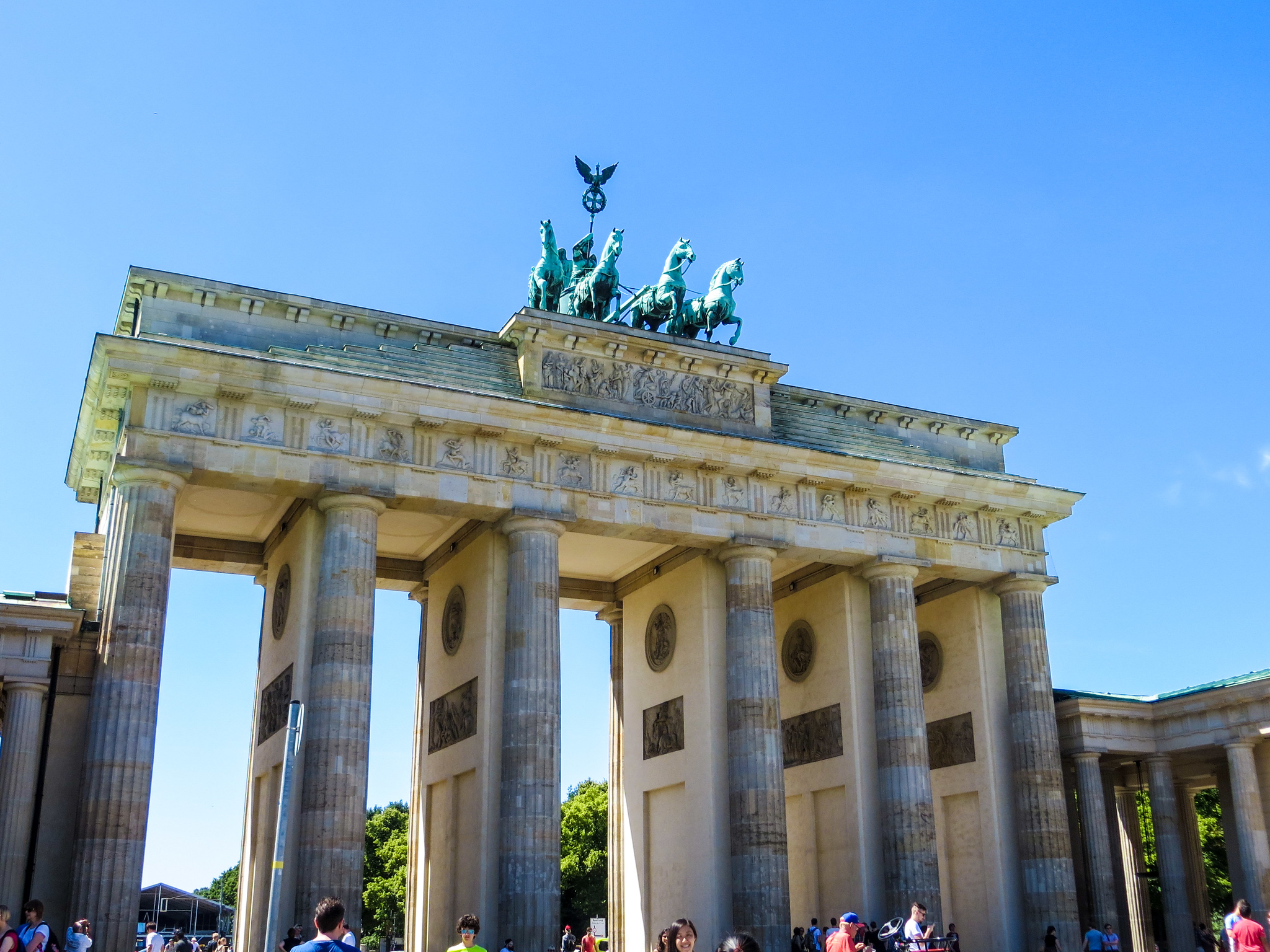 the brandenburg gate is a cool thing to see on a first time europe trip