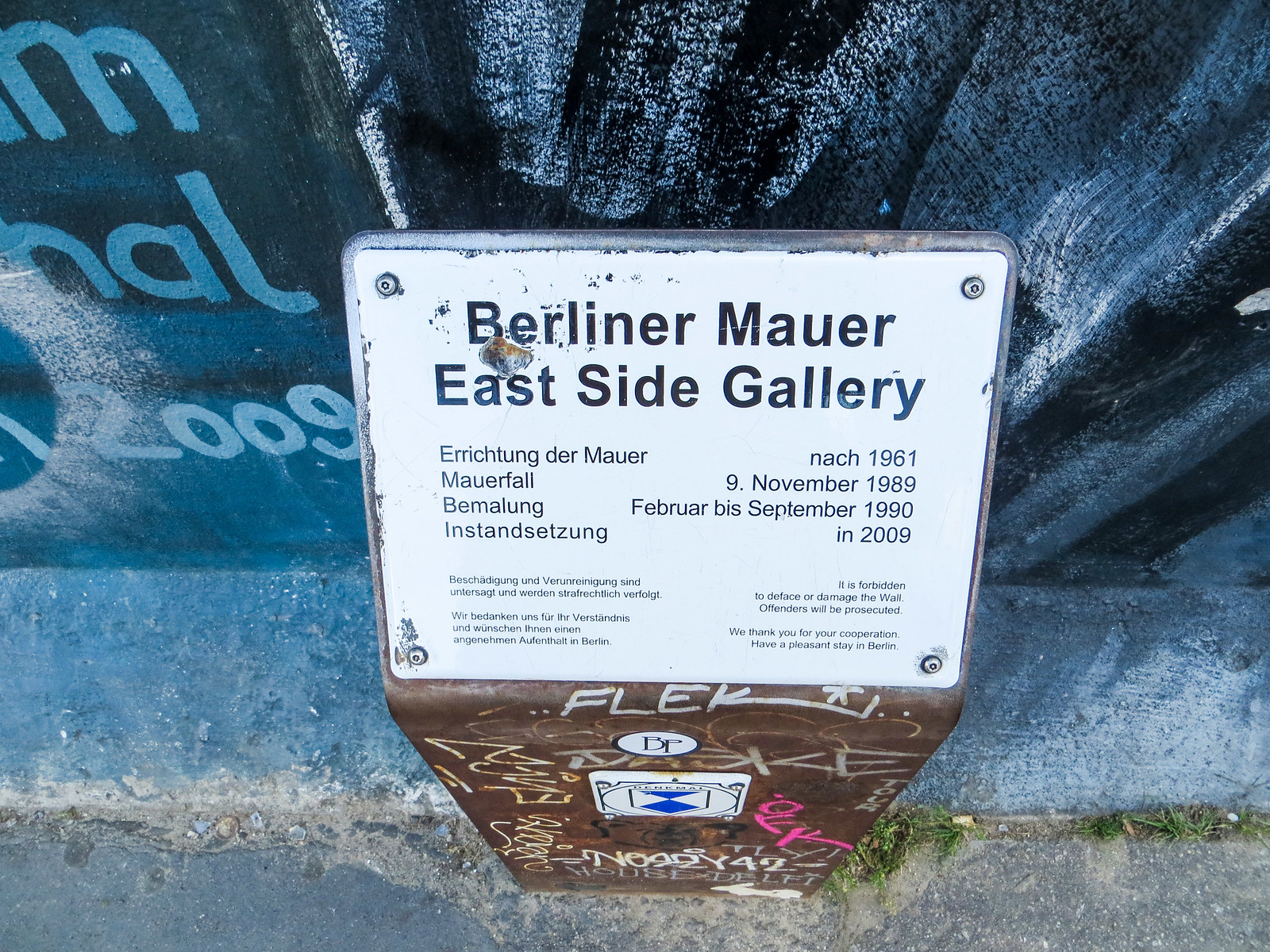 should i go to germany? yes, you learn a lot at the berlin wall