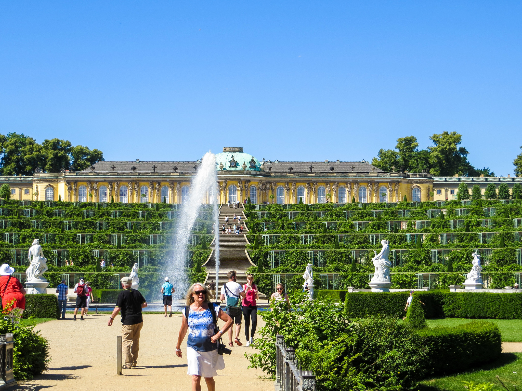 is berlin safe to travel alone? yes especially in nearby potsdam