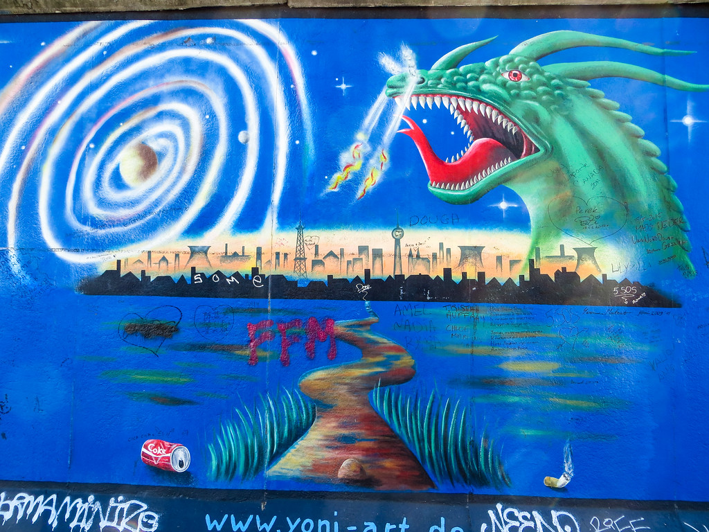 the east side gallery is definitely what to see in berlin in 2 days