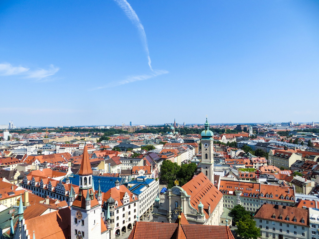 seeing beautiful munich is worth the trouble even if you're scared of flying alone