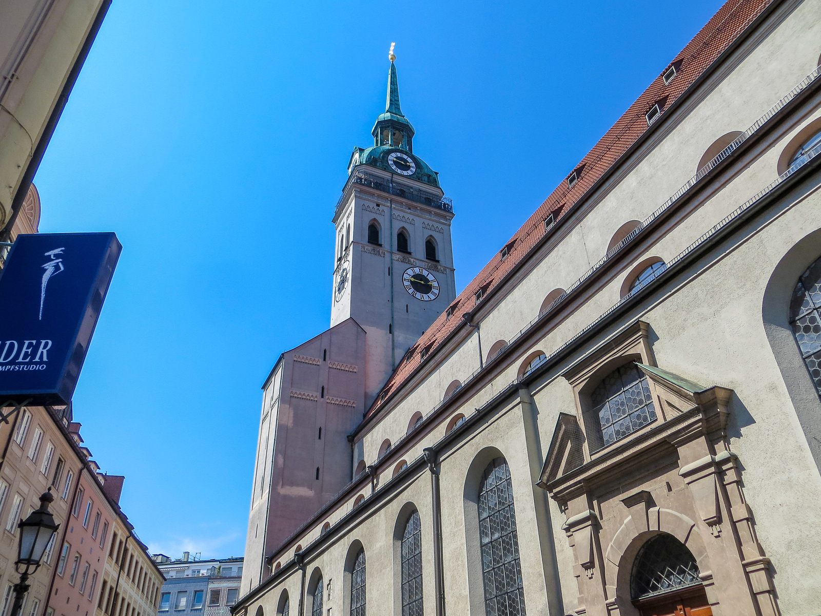 go to st peter's church with your weekend in munich
