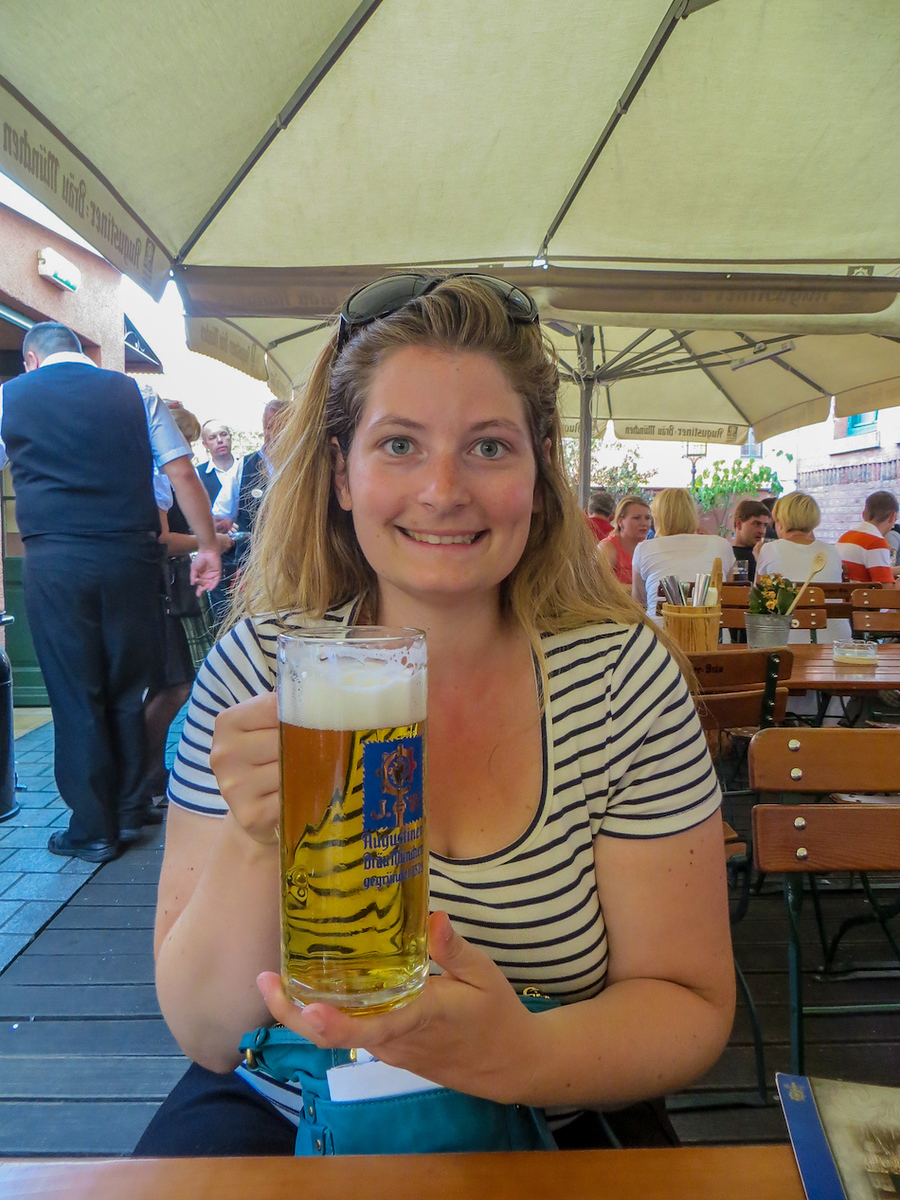 munich 2 days itinerary: means drinking beer