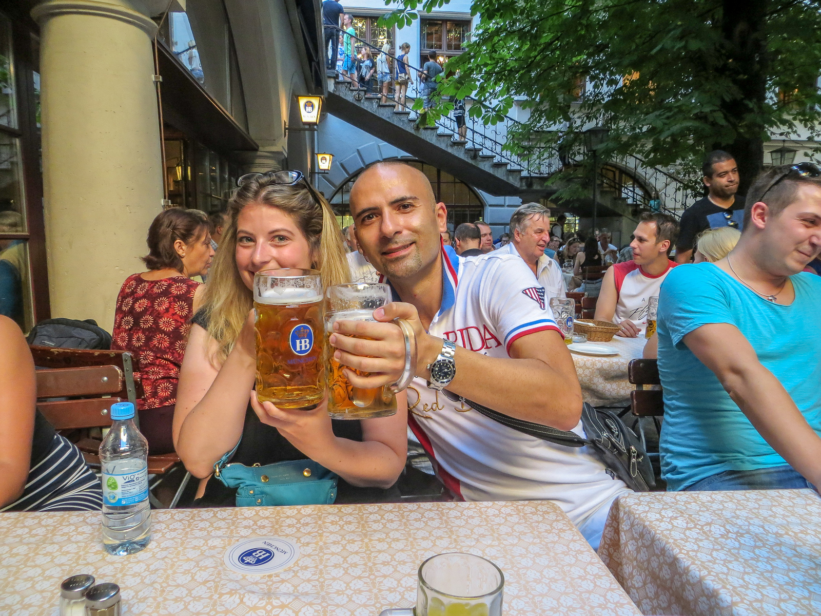 why should i visit germany? to go to excellent beer gardens
