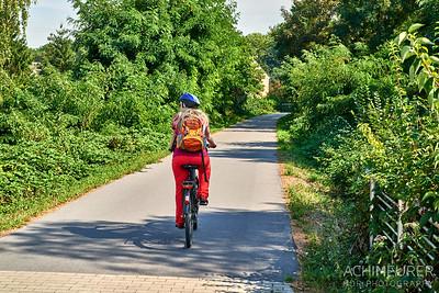 Radfahren im Ruhrgebiet, auf der alten Erzbahn