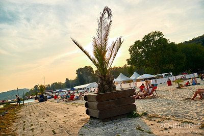 Seaside Beach Baldeney in Essen im Ruhrgebiet