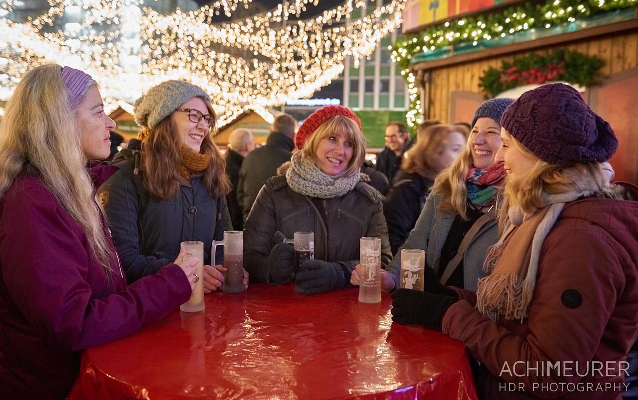 Weihnachtsmarkt in Essen im Ruhrgebiet