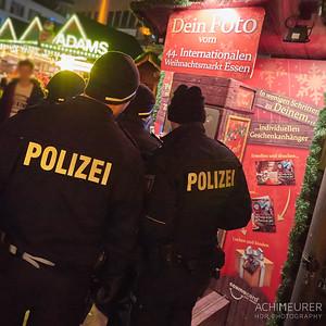 Auch die Polizei möchte eine Weihnachtsgrußkarte schicken