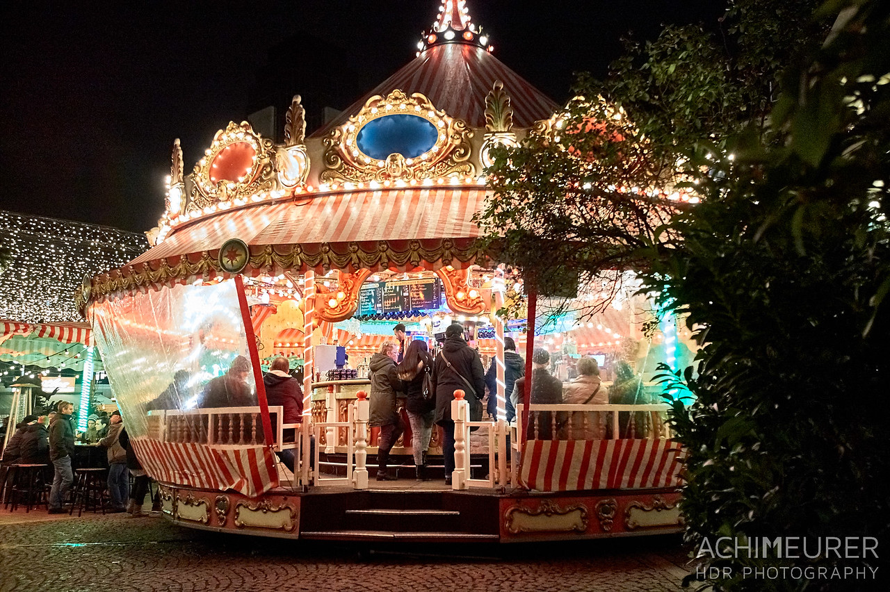 Weihnachtsmarkt in Bochum im Ruhrgebiet