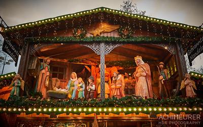 Weihnachtsmarkt in Dortmund im Ruhrgebiet