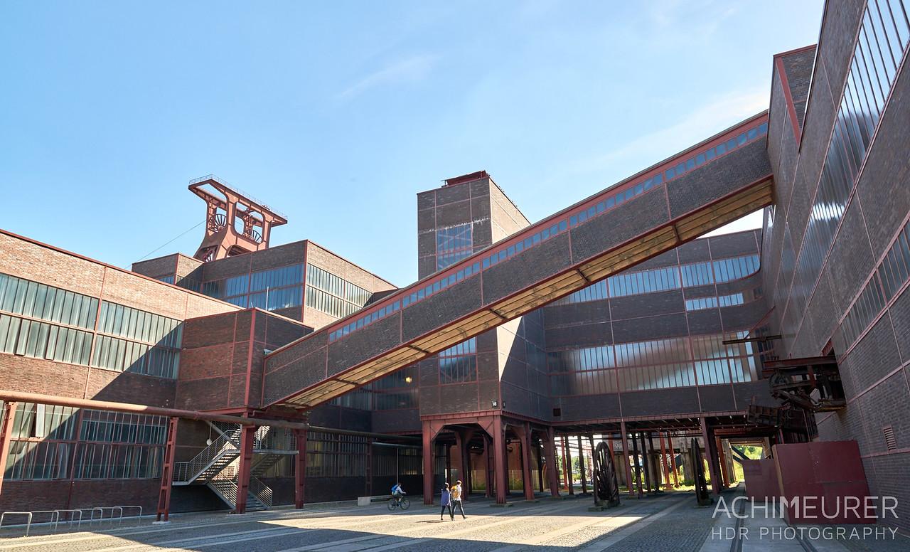 Zeche Zeche Zollverein in Essen Ruhrgebiet