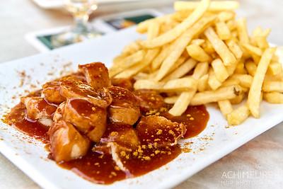 Currywurst in Essen, Ruhrgebiet