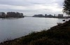 River Rhine, Speyer, 20 March 2013.  Looking south