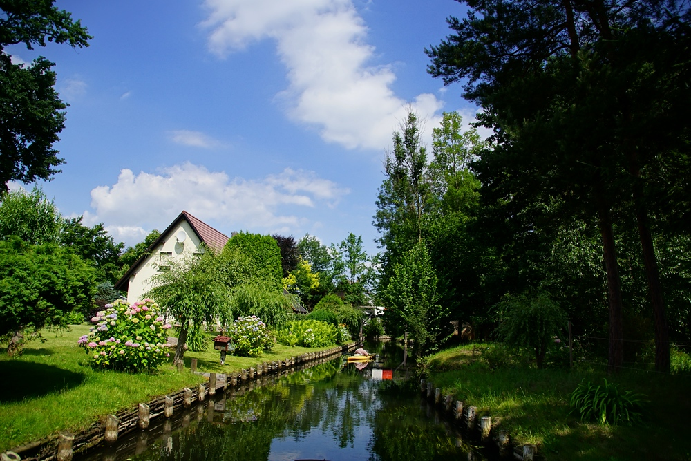 Slow travel in Germany - Spreewald Canal in Germany