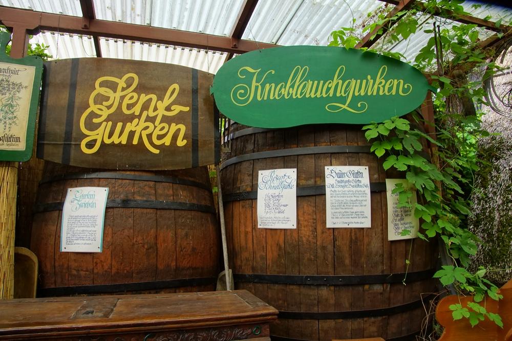 German pickle museum in Spreewald, Germany
