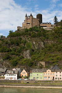 Burg Katz (Cat Castle) in St. Goarhausen