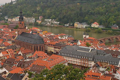 Old Town Heidelberg on the Neckar River